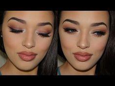 Daytime Smokey Eye   ABH Modern Renaissance Palette - YouTube