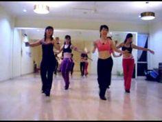 Line Dance -Cumbia Semana ( July 09 ) - YouTube