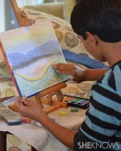 Homeschool art lessons for kids