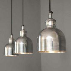 Rowen & Wren Flori Tarnished Silver Pendant Light