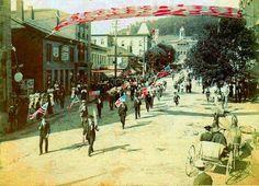 1898 Memorial day parade in Kittanning, Pa.