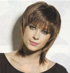 Shaggy Hairstyles : Short Gypsy Shag Haircuts With Bangs For Straight Thin And Fine Hair With Highlight In Everyday Gypsy Shag Haircuts Old But Stylish Medium Gypsy Shag Hairstyle. How To Cut A Gypsy Shag Haircut. Short Shaggy Haircuts, Shaggy Short Hair, Short Shag Hairstyles, Bob Hairstyles For Fine Hair, 2015 Hairstyles, Girl Haircuts, Shaggy Bob, Hairstyle Short, Pretty Hairstyles