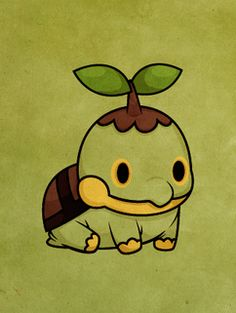 Pokemon Fusion / Chimchar and Turtwig by PokemonFusioner ...