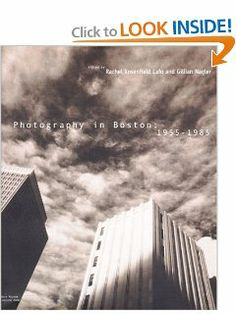 Photography in Boston: 1955-1985 by Rachel Rosenfield Lafo. Save 60 Off!. $18.00. Publication: August 14, 2000. Publisher: The MIT Press (August 14, 2000). 206 pages