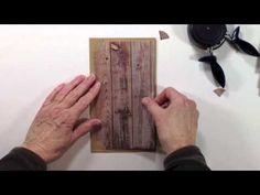 ▶ Vertical Paper Bag Mini Album Series Part 3 - Base Pages - YouTube