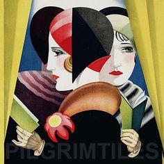 40 Ideas for art deco vintage posters illustrations Art Nouveau Pintura, Arte Art Deco, Art Deco Posters, Vintage Posters, Poster Prints, Photo Vintage, Vintage Art, Vintage Photos, Vintage Travel