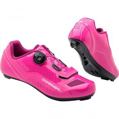 Louis Garneau Ruby Cycling Shoes: Pink cycling shoes for style and performance!