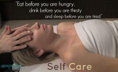 Self care is preventative care by http://www.massamio.com/