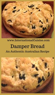 This damper bread recipe was made famous by the swagman and drovers throughout the bush in Australia. A fun recipe to make and eat too! Aussie Food, Australian Food, Australian Recipes, How To Make Bread, Food To Make, Damper Recipe, Bread Recipes, Quick Recipes, Easy Bread