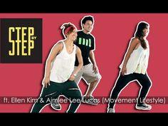 Step By Step Ep. 3 - Dancing K-POP with Ellen Kim & Aimee Lee Lucas. Fun easy workout!