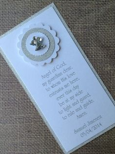 12x First Holy Communion/Baptism Invitations Remembrance Cards/Favors on Etsy, $24.00