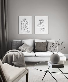 Bodyline gallery wall in the group Inspiration at Desenio AB Home Living Room, Interior Design Living Room, Living Room Designs, Living Room Decor, Bedroom Decor, Kitchen Living, Dining Room, Decoration, Home Decor