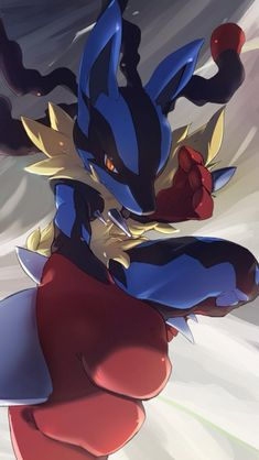 Find images and videos about anime, pokemon and Lucario on We Heart It - the app to get lost in what you love. Rayquaza Pokemon, Mega Lucario, Mega Pokemon, Pokemon Fan Art, Lugia, Pokemon Pins, Pokemon Stuff, Pokemon Backgrounds, Cool Pokemon Wallpapers