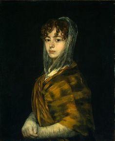 Senora Sabasa Garcia - Francisco Goya (1746-1828)