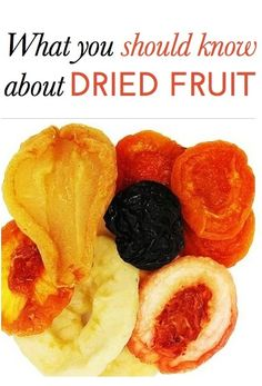 Before eating dried fruit, make sure you know these expert perspectives.