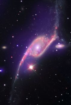 Astronomers think that supermassive black holes exist at the center of most galaxies. Not only do the galaxies and black holes seem to coexist, but are apparently united in their evolution. To better understand this symbiotic relationship, scientists have turned to black holes that grow at high speed, called active galactic nucleus (AGN) to study how they are affected by their galactic environments.
