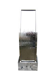 The Paris stainless steel water feature is a beautiful stainless steel fully self-contained water feature with the durability and portability that high quality stainless steel construction brings.