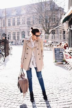 Polienne | a personal style diary: THE CROP TRENCH