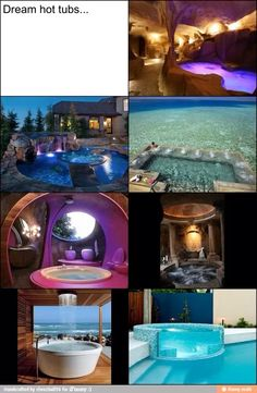 Awesome hot tubs