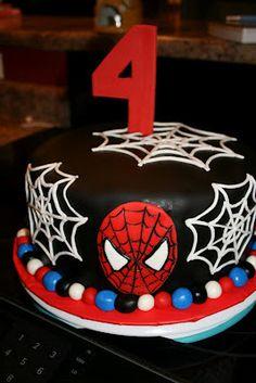 Spiderman cake by KB Cakes www.kbcakes.me