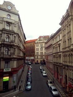 Morning view in Prague, Czech