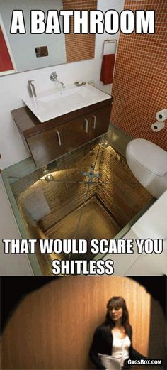 It Will Scare The Shit Out Of You - #funny, #lol, #humor, #jokes, #gifs, #funnygifs, #pranks