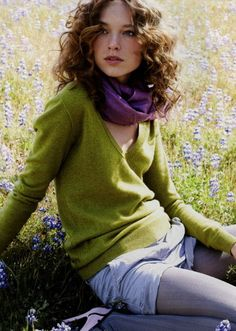 Love the color combo of green and dark purple. Lavender Green, Green And Purple, Periwinkle Blue, Fresh Green, Dark Purple, Olive Green, Yellow, Purple Scarves, Shorts With Tights