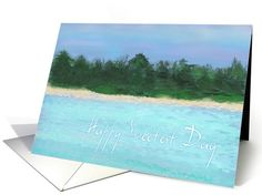 Happy Sweetest Day-Island Card. Recently purchased by a customer in California.