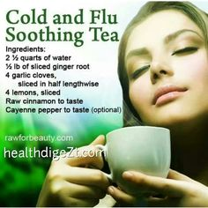 Cold & Flu Soothing Tea