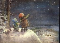 Starry Starry Night ~ Lisi Martin. I have discovered my favorite artist- Lisi…