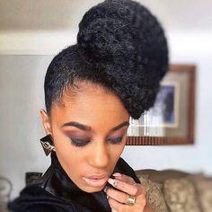 Marley Hair How To Use Marley Hair Natural Hair Styles natural hair ponytail styles Hair Ponytail Styles, Natural Hair Ponytail, Updo Styles, Curly Hair Styles, Natural Hair Styles, Natural Updo, Curly Ponytail, Marley Twists, Marley Hair Bun