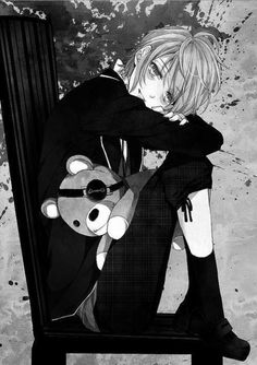 """This was originally captioned as """"Black Butler Alois Trancy"""" but I think it's actually Kanato from Diabolik Lovers."""