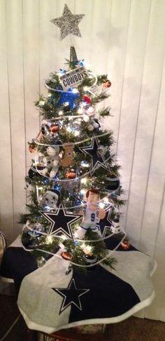 dallas cowboy christmas tree 2013