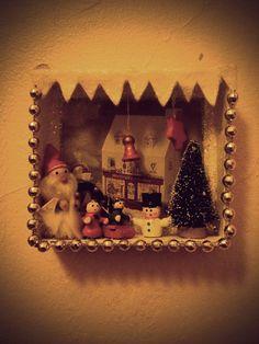 Christmas Shadow Box (Diorama)