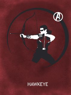 Alexa sent me this pin. Only she knows how big my love for Hawkeye is. I NEED A HAWKEYE MOVIE OKAY.