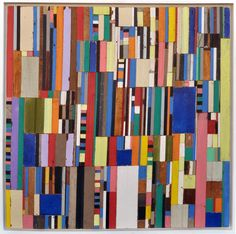 Reclaimed wood assemblage ~ Michelle Peterson-Albandoz <<< inspiration for quilt. Textures Patterns, Print Patterns, Half Square Triangle Quilts, Assemblage Art, Mosaic Art, Pattern Art, Washington Dc, Wood Art, Collage Art