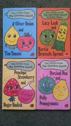 Ladybird Books The Garden Gang 1980s Childhood, Childhood Memories, Early 90s Toys, Famous Legends, Vintage Children's Books, Vintage Kids, Retro Vintage, Ladybird Books, 90s Nostalgia