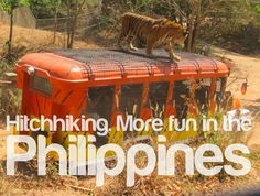 HITCHHIKING. More FUN in the Philippines!