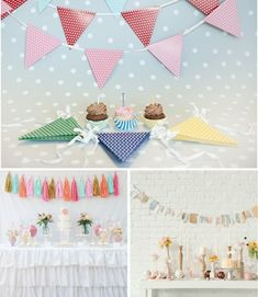 Las mejores ideas para decorar el fondo de la mesa de fiesta - DecoPeques