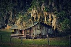 Old Fl Cracker Style House, Wacahoota Fl