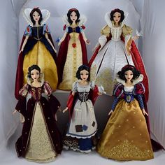 Robes Disney, Disney Dresses, Disney Costumes, Disney Pixar, Disney Art, Walt Disney, Disney Barbie Dolls, Disney Princess Dolls, Disney Princesses