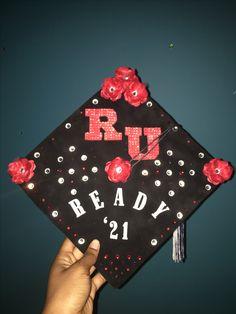High School Graduation Cap. Rutgers University
