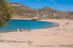 Ftelia beach is located at the northern part of Mykonos island on the way to Ano Mera village. Mykonos Town, Mykonos Greece, Places In Greece, Mykonos Island, Tourist Places, Beautiful Places, Amazing Places, Greece Travel, Greek Islands