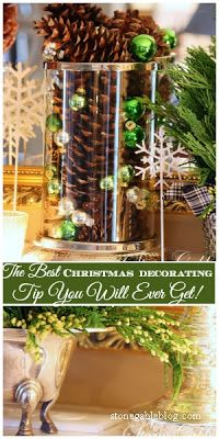 StoneGable: THE BEST CHRISTMAS DECORATING TIP YOU WILL EVER GET!