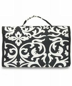 Damask Black Trim Cosmetic Makeup Bag Large AMAZON.COM Online,http://www.amazon.com/dp/B005KGK14Y/ref=cm_sw_r_pi_dp_HgJOsb0BCQRMNGTG