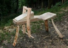 Shave horse