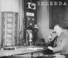 1ste radio uitzending 1919, vanuit Den Haag