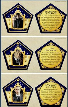 I absolutely LOVE all things Potterlock!!!!!!!