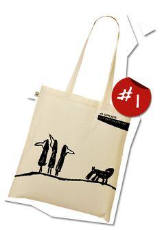 The GuteJute tote bag design #1 by www.quittensticker.de