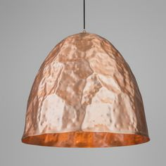Pendant Lamp Dents 60 Matte Copper